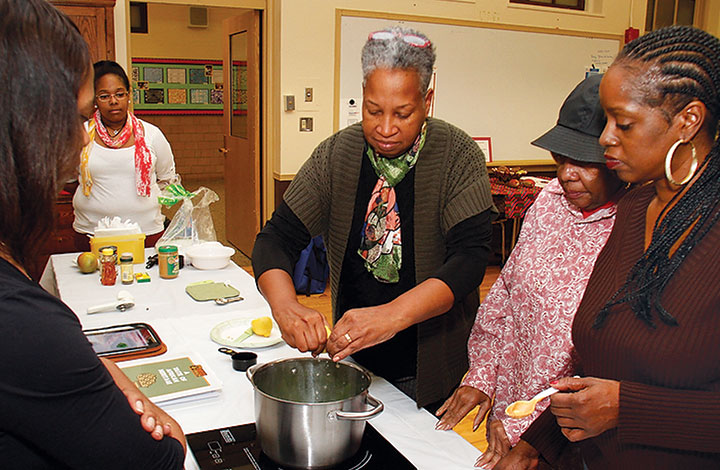 Domestic cookery classes