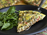 Spanish Vegetable Tortilla from Murcia