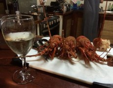 Mozambique Culinary Experience – Crayfish Thermidor Recipe