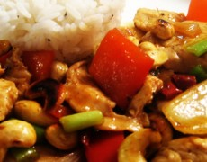 Recipe – Bangkok Cashew Chicken