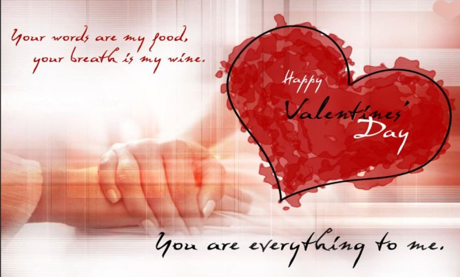 Happy Valentines 2013 Day Wallpapers With Romantic Quotes Add